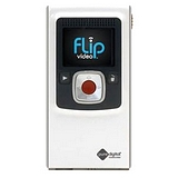 pure digital flip video f160w digital camcorder