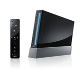 Nintendo wii Black (Japan Version)