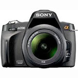 Sony Alpha A230 DSLR Camera with 18-55mm Lens