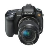 Sell sony alpha dslr-a300k digital camera with 18-70 and 55-200mm lens at uSell.com