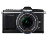 Sell olympus pen e-p2 digital camera with 17mm lens at uSell.com
