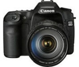 Sell canon eos 40d digital slr camera with 17-85mm lens at uSell.com